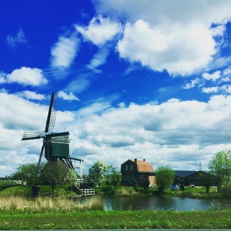 Heading Amsterdam _ today windm - anneberlin | ello