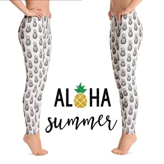 Aloha summer! leggings capris!  - littleposhbabes | ello