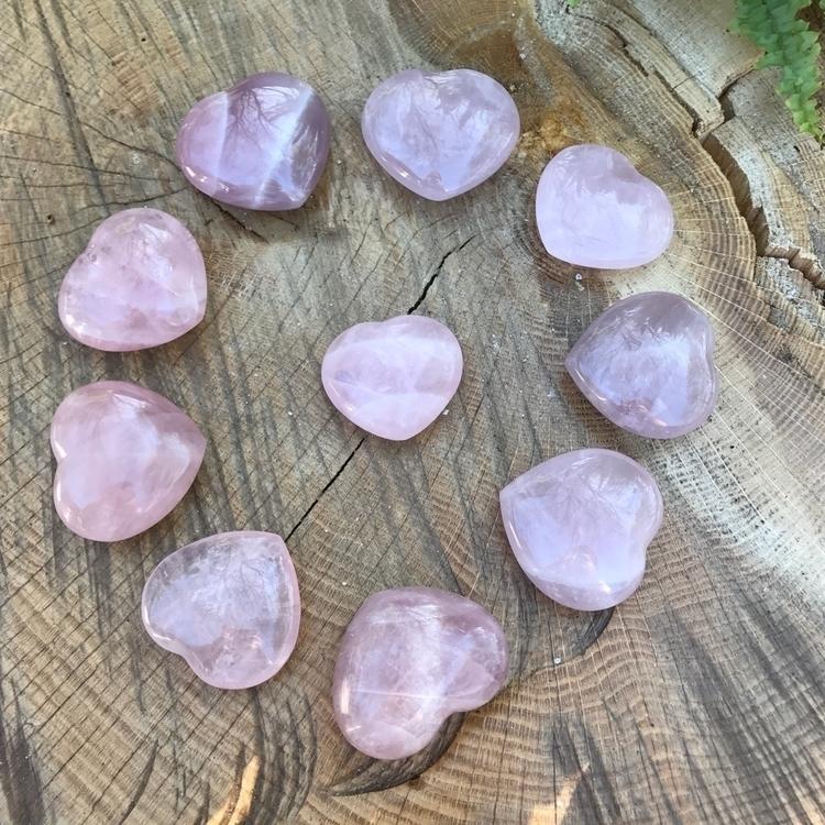 Rose Quartz Hearts :sparkles:$2 - earthlysecrets | ello