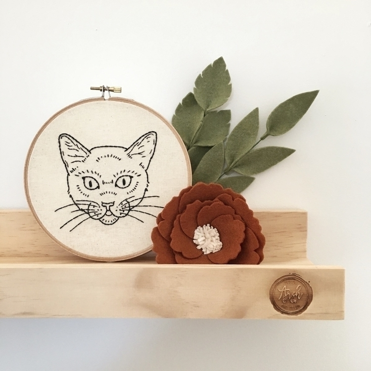 newest addition Embroidery Hoop - archandco | ello