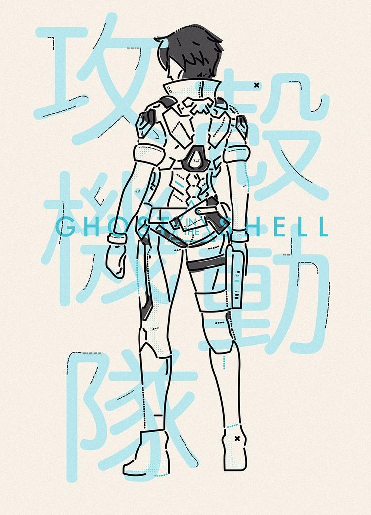 favourite animes, Ghost Shell - jamesp0p | ello