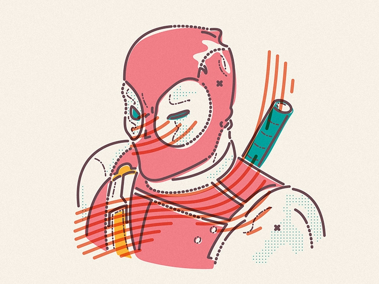hero - Deadpool - jamesp0p | ello