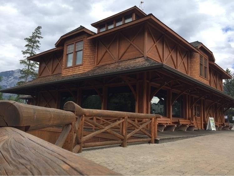 woodwork, Banff, travel, ello - spiketwopointo | ello