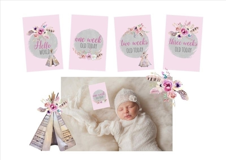 :cherry_blossom:Baby Milestone  - babybirthbeyond | ello