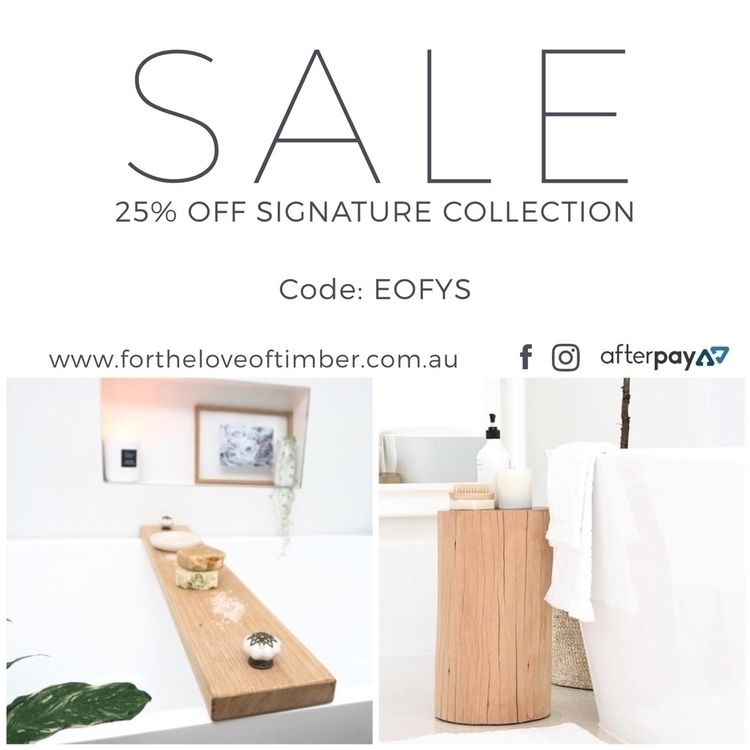 SALE TIME!!! 25% Signature Coll - fortheloveoftimber | ello