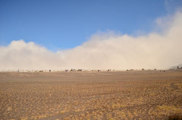rim volcano Irazu clouds roll C - locart | ello