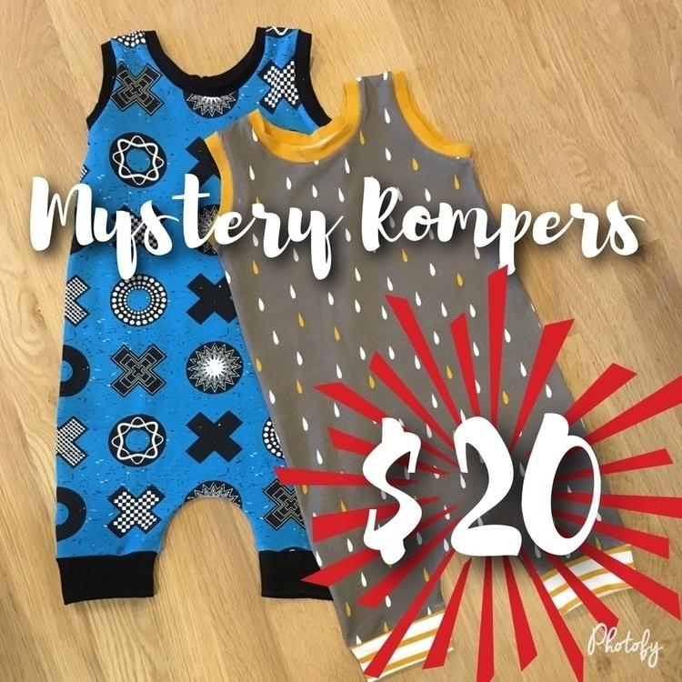 heard, $20 mystery romper sale - beaneroobaby | ello