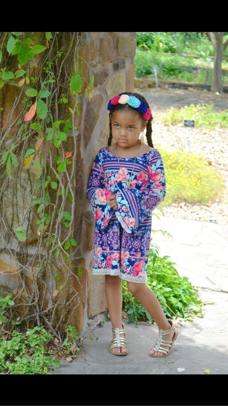 Melody dress Summer Boho Collec - bigrufflesnliltrousers | ello