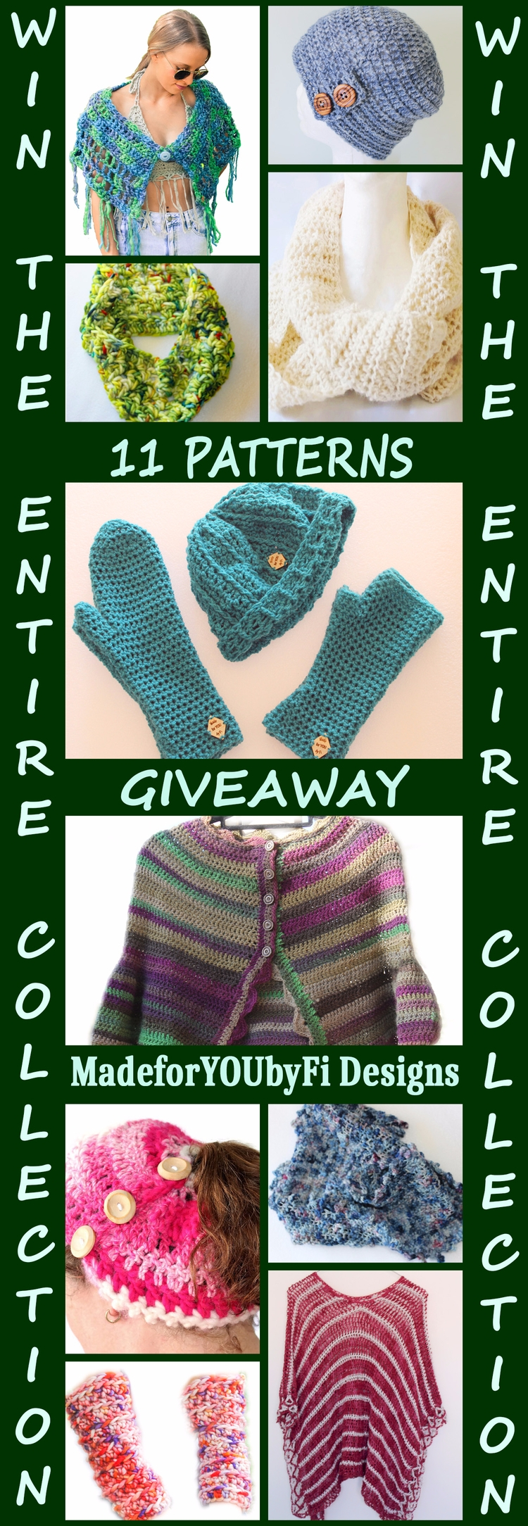 GIVEAWAY - giveaway, crochetpatterns - madeforyoubyfi | ello