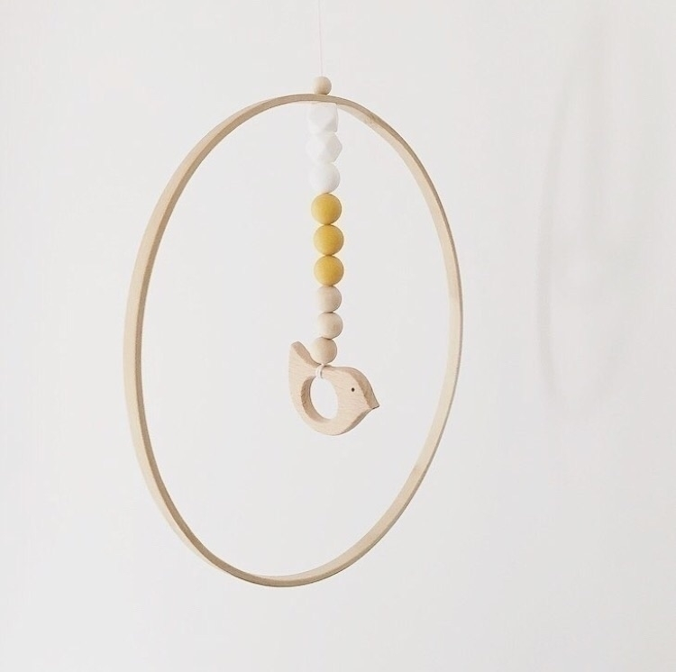 Loving mustard dove mobile, cap - babyjonesdesigns | ello