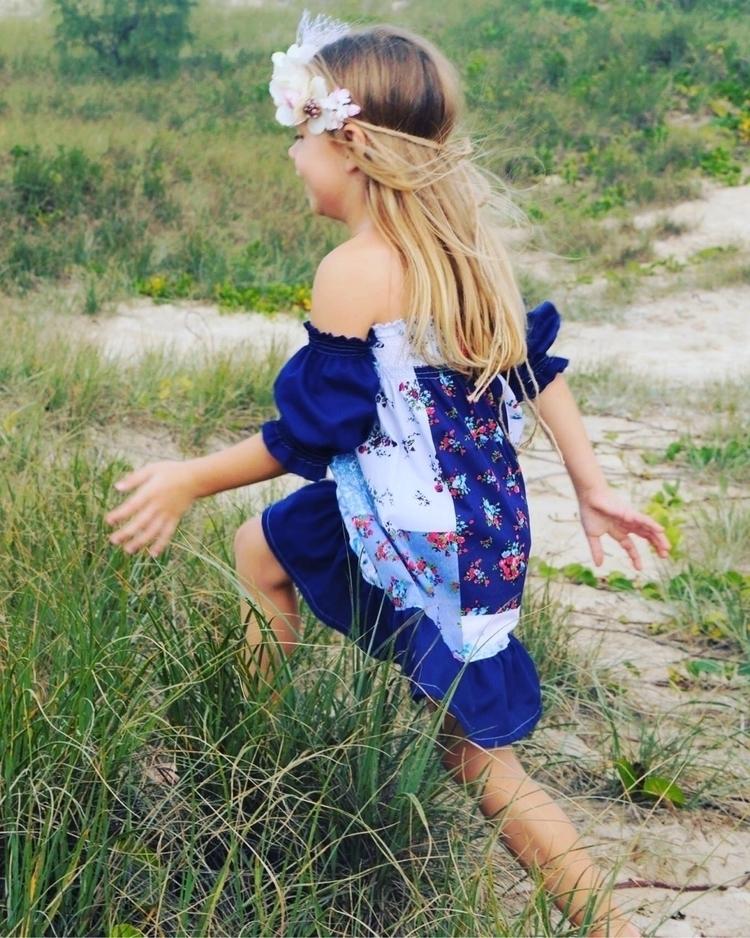 Chasing butterflies sand dunes - lilybelleboho | ello