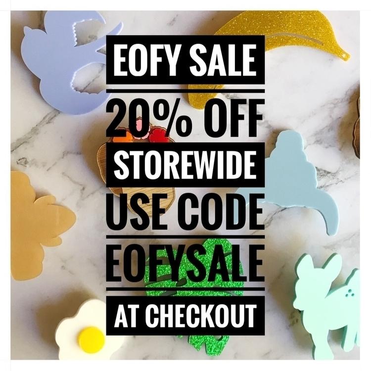 forget EOFY SALE 20% storewide  - figandfletcher | ello
