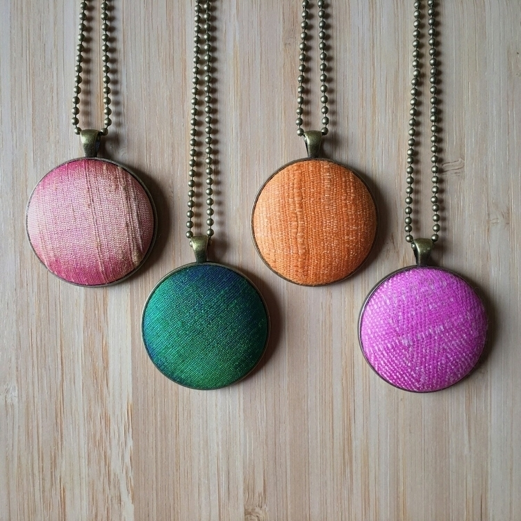 love raw silk. colours textures - buttonemporium | ello