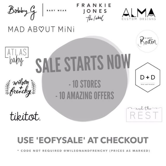 biggest EOFY Clearance Sale ope - almacustomdesigns | ello