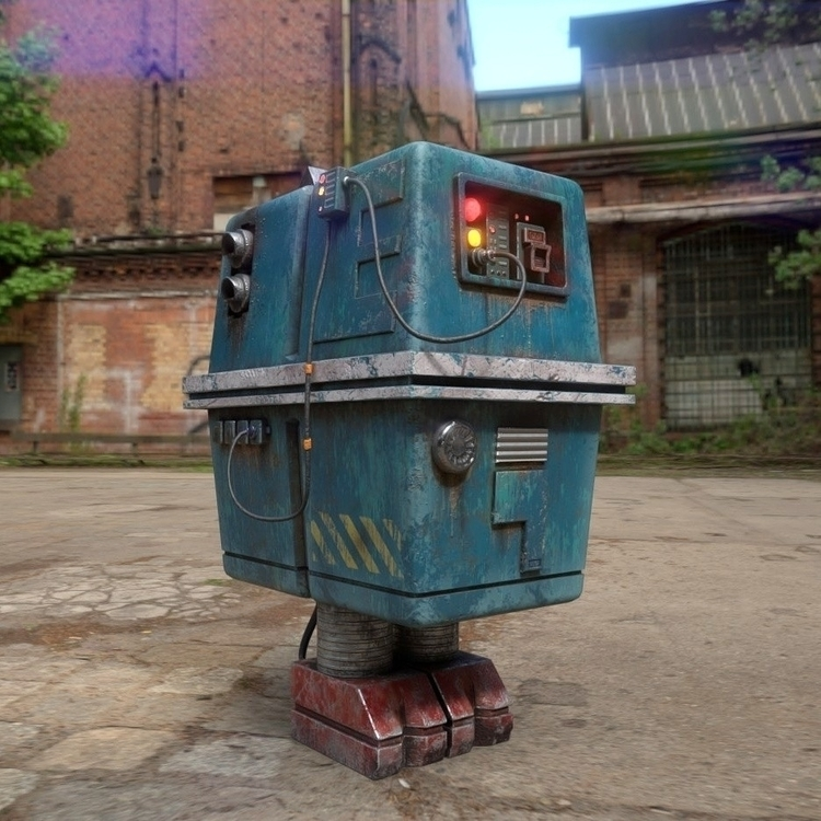 Star Wars Gonk Droid. 3D model - __jask__ | ello