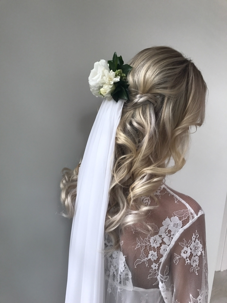 Bridal Colour Styling - bridalhair - sarahannehairstyling | ello