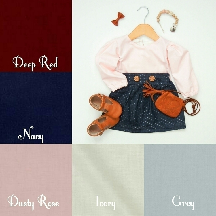 launched Poppy blouse! Pair Kin - roseandwesley | ello
