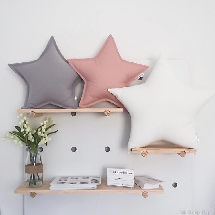 Star Cushions Deluxe grey, cott - littlebambinobear | ello