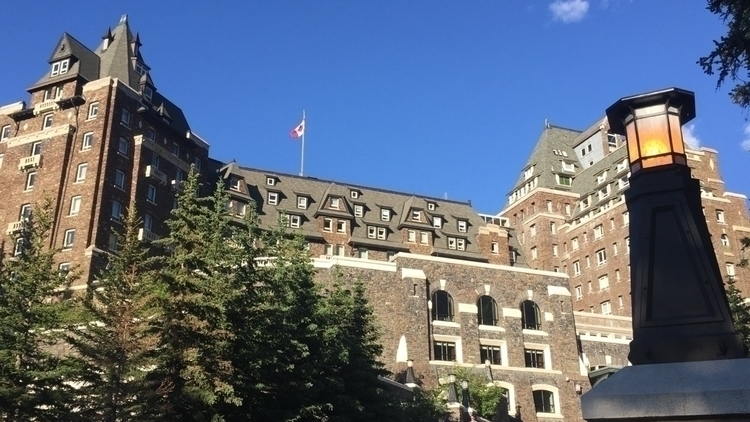 Springs Hotel - Banff, iphoto, photography - spiketwopointo | ello
