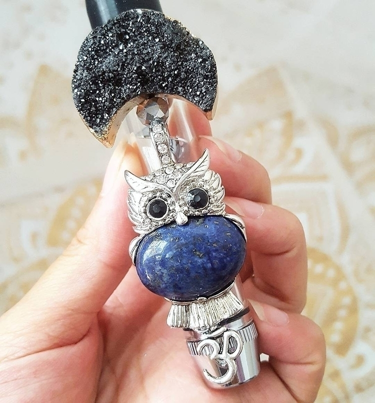 Genuine Lapis Lazuli crystal. c - crystallizedkiss | ello