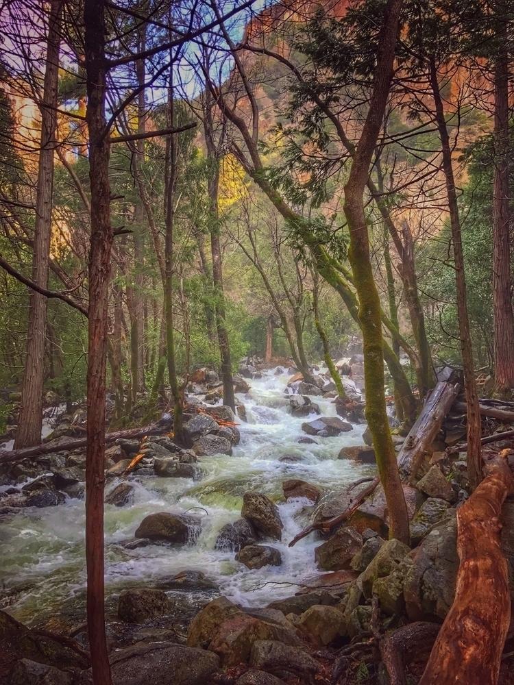 Hike Bridalveil Fall, Yosemite - hollingsworth | ello