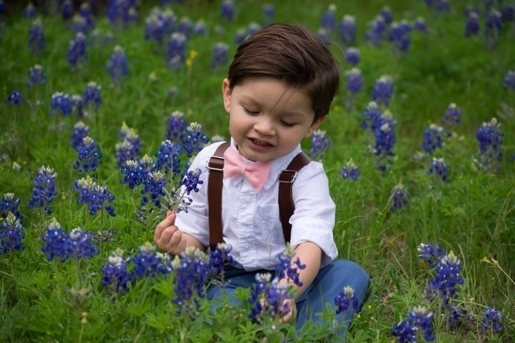 Blue bonnets dapper boy perfect - life_of_little_luke | ello