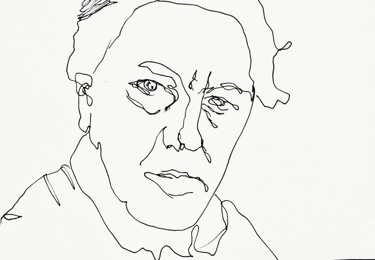 Andre Breton ///// *ink paper - art - guiart | ello