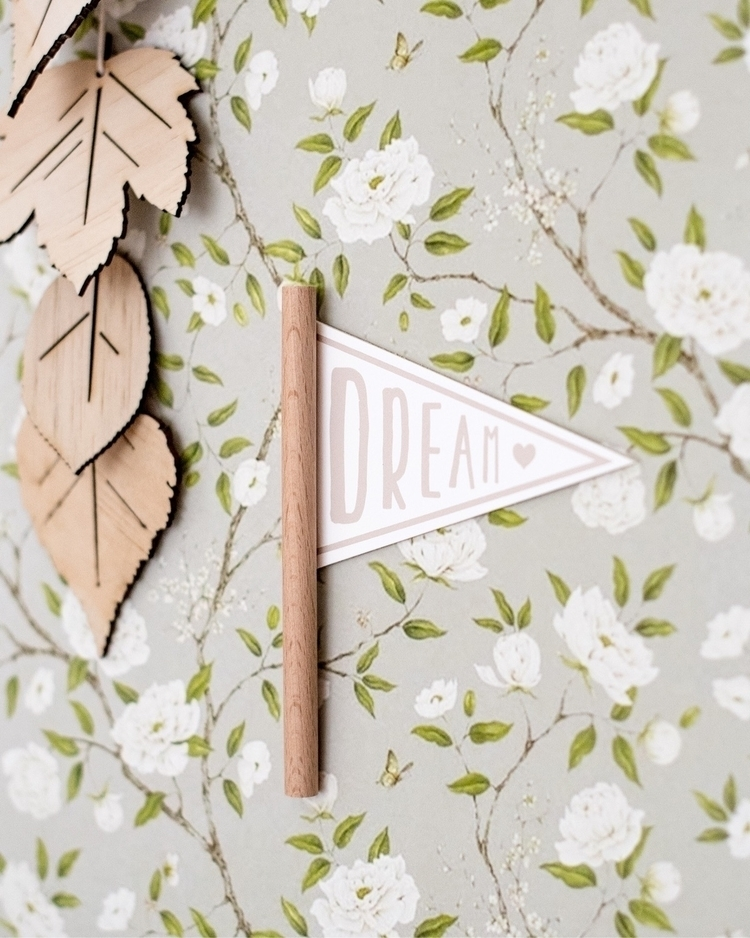 dream, floral, nursery, interior - thispaperbook | ello