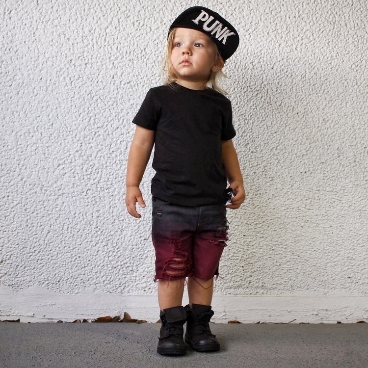 punk :heart:️ . Shorts - kidsfashion - the_calder_chronicles | ello