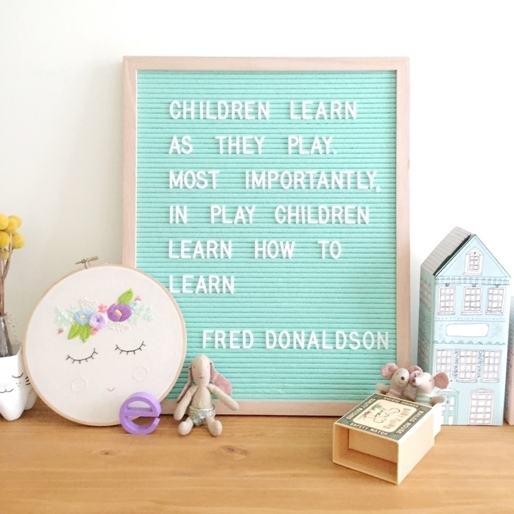 Children learn play. importantl - wildandwhimsicalthings | ello