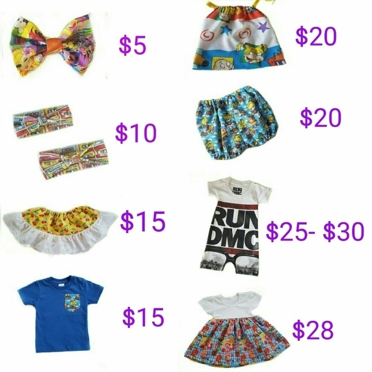 current prices. items purchased - wildandcrazythreads | ello