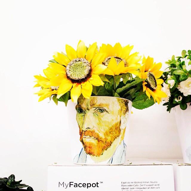 Van Gogh MyFacepot - unique exe - flower-pot-gifts | ello