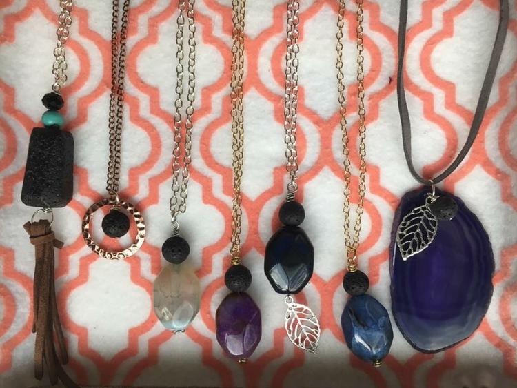 pretties - aromatherapy, diffuserjewelry - themamabearco | ello