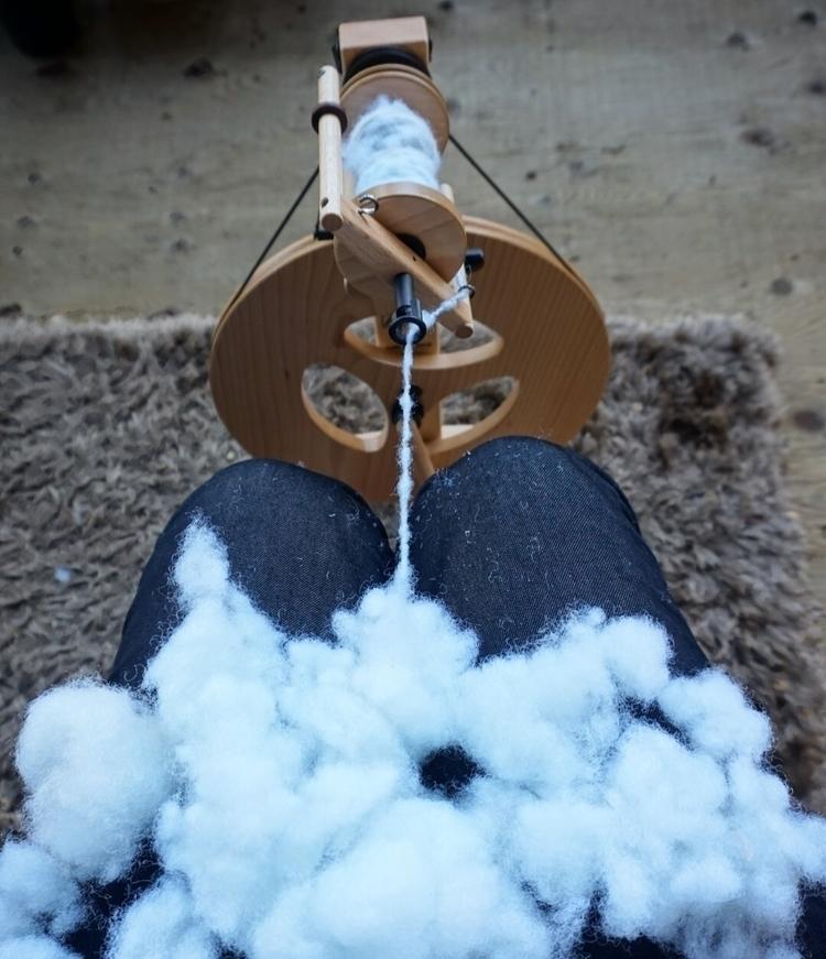 Spinning clouds yarn - creative - katrinamjcraig | ello