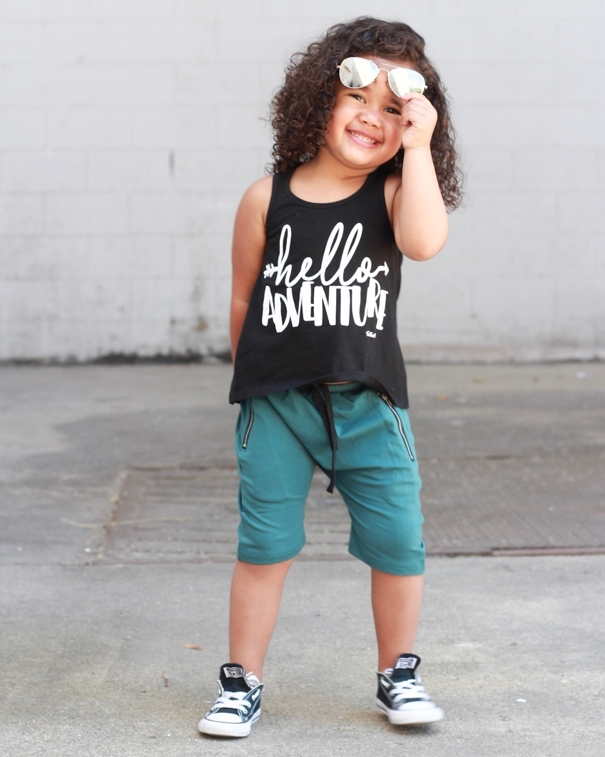 Feeling adventurous?! teal Zip  - 9twentyfivekids | ello