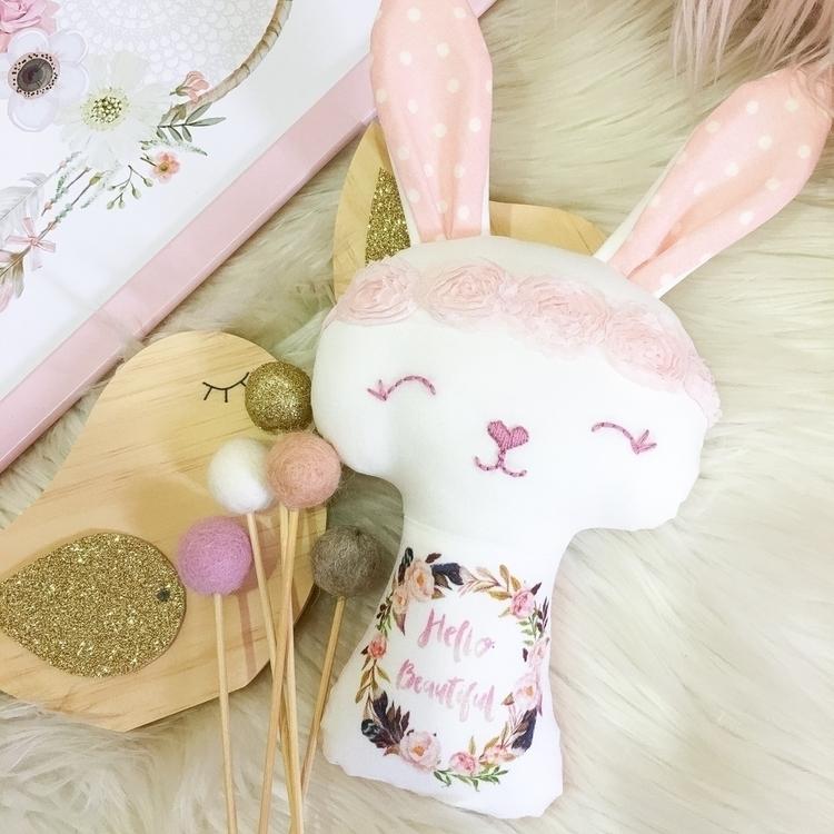 fun scaled mini bunny size idea - rhapsodyandthread | ello