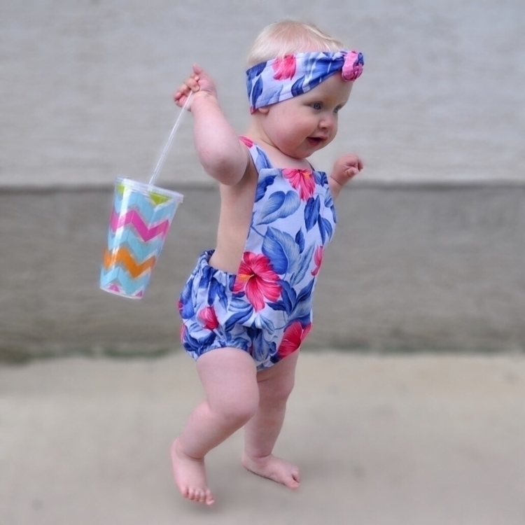 Ready hit beach! Romper Headwra - miss-marley-anne | ello