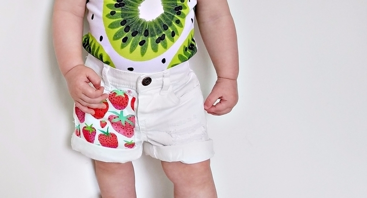 Strawberry Fields shorts - instylebabylegs | ello