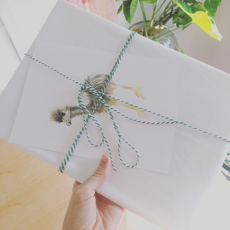beautiful package ready post su - kimcarter_art | ello