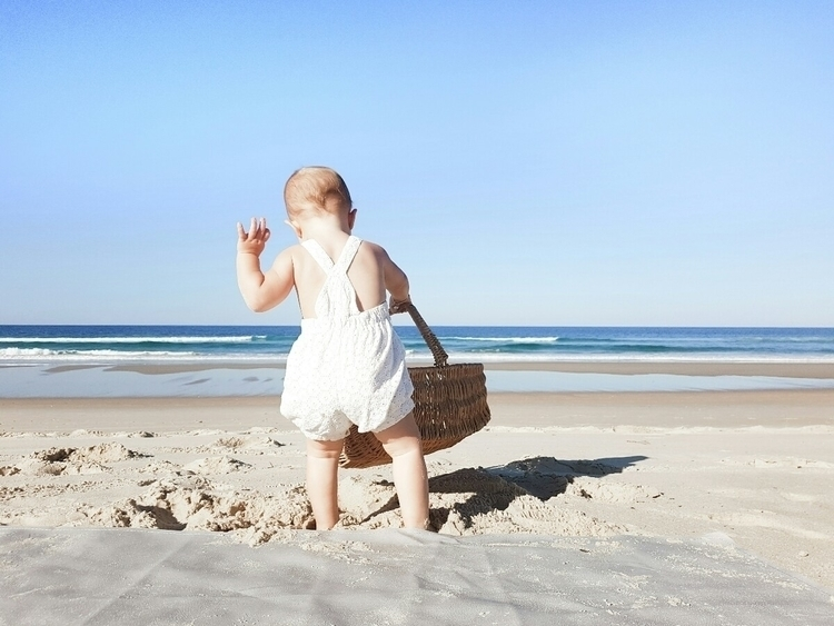 Winter days beach - queensland, childhood - courtneydow | ello