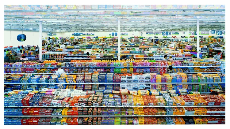 Andreas Gursky, 99 Cent, 1999 C - valosalo | ello