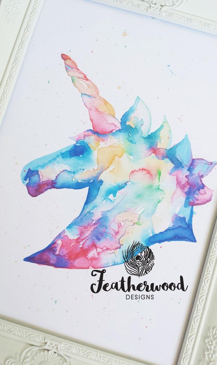 Sharing unicorn sparkle evening - featherwooddesigns | ello