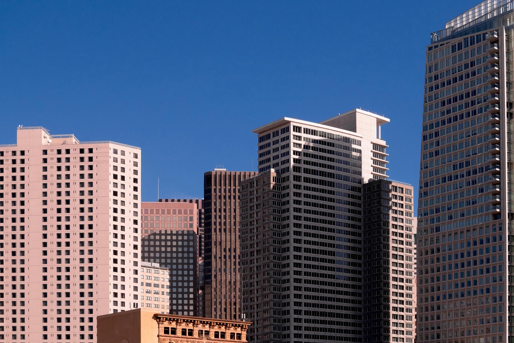 San Francisco Skyscrapers rise  - mattgharvey   ello