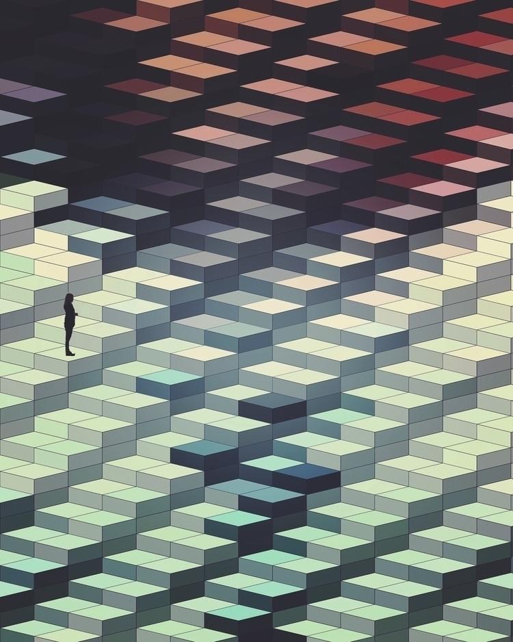 Digital Lego - art, digitalart, digital - mike_n5 | ello