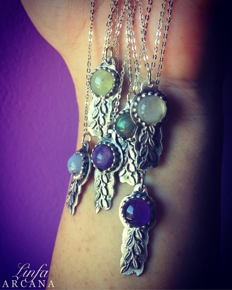 handmade silver pendant Etsy sh - linfa | ello