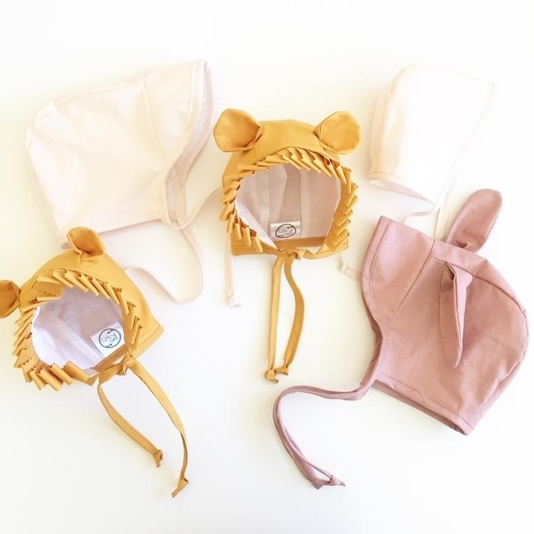 love Bonnets. lion cub special - topknotgirl   ello