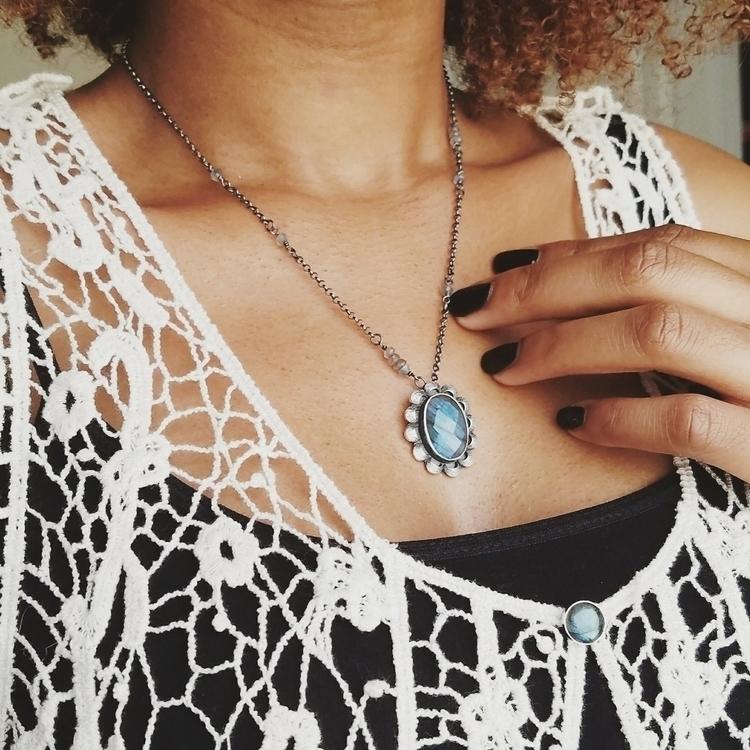 love subtle details neckace. am - solidtreasuresjewelry | ello