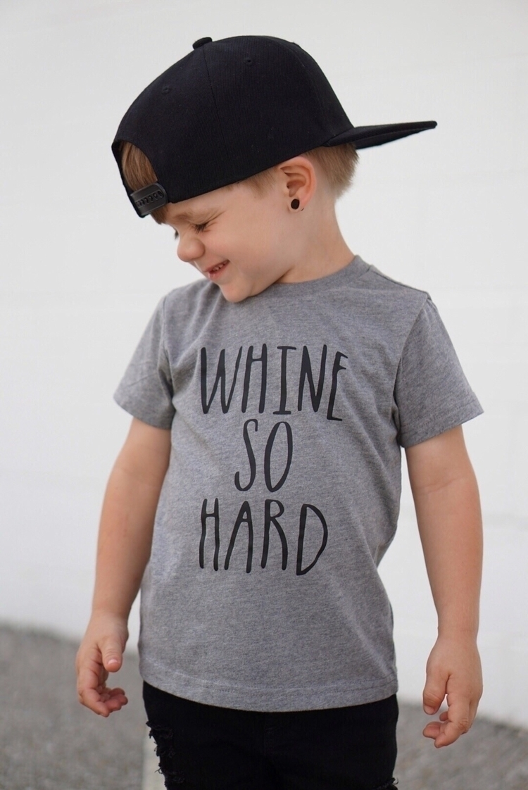 Monday.... whine hard Tee hat:  - blessedwith3blue | ello