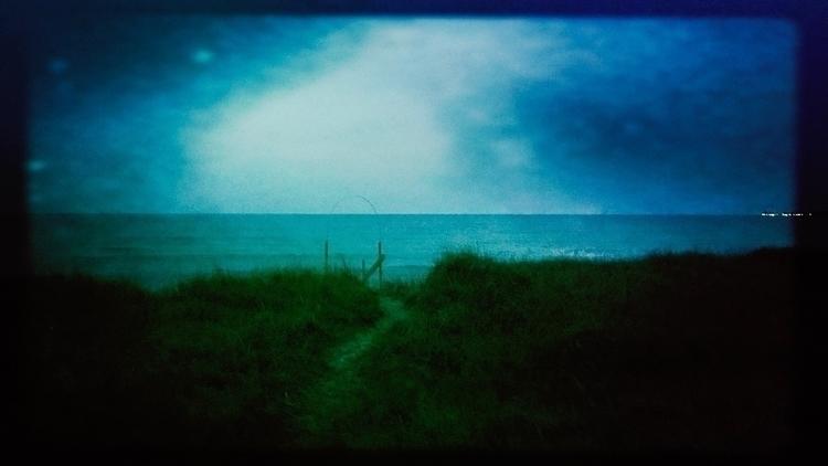Stranded - darkness, light, blue - yogiwod | ello