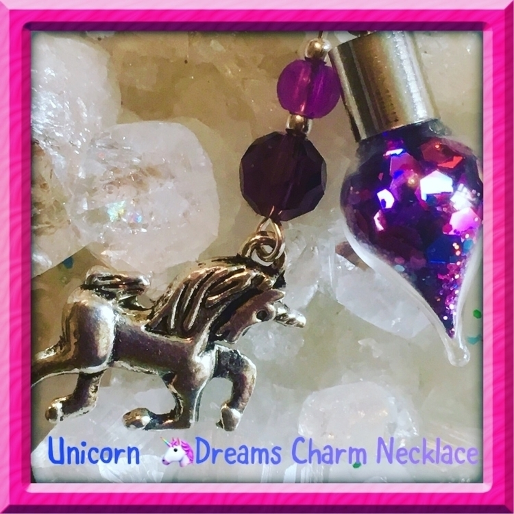necklace - unicorn, unicorn - inolascharms   ello